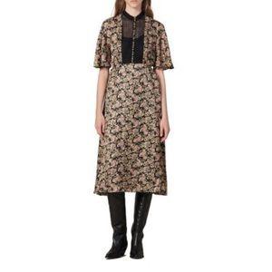 Sandro Daina Paisley silk size 8 perfect condition